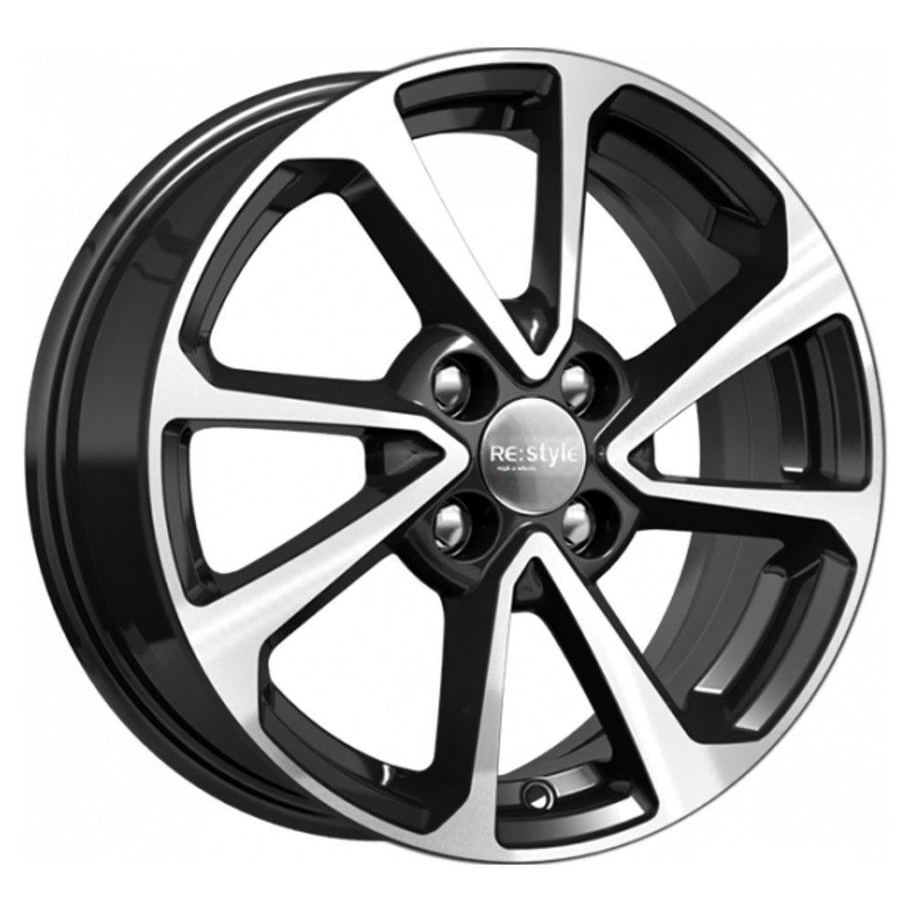 КиК Hyundai Solaris II (КСr861) 6,0R15 4*100 ET46 d54,1 Алмаз-черный 740391