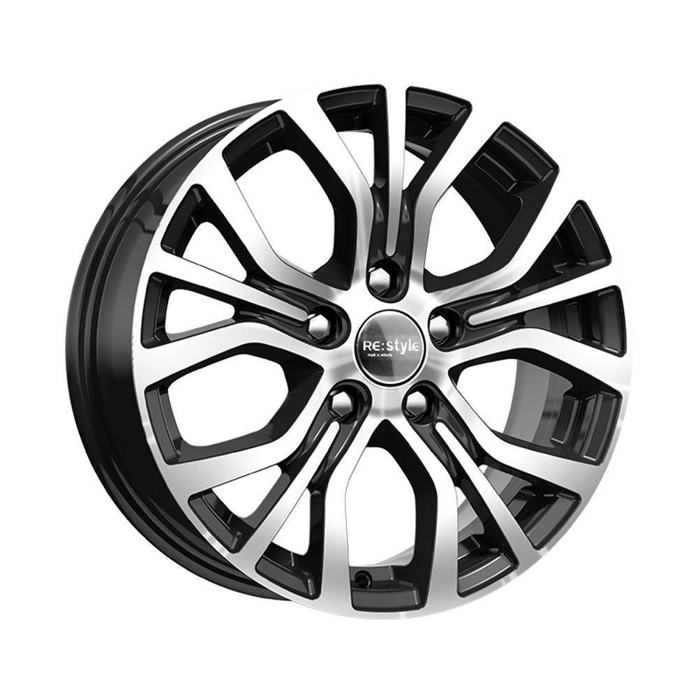 КиК Nissan Qashqai (КСr736) 6,5R16 5*114,3 ET40 d66,1 Алмаз черный 679921