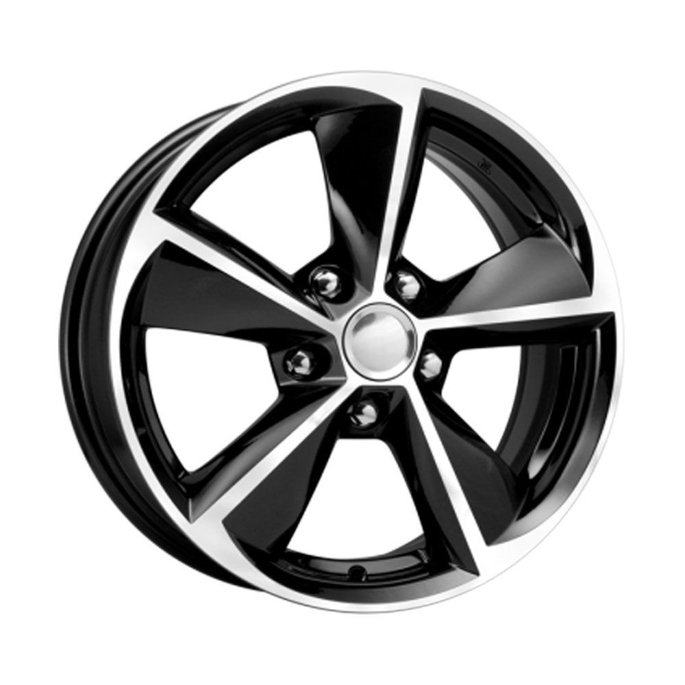 КиК Renault Fluence (КСr681) 6,5R16 5*114,3 ET47 d66,1 Алмаз-черный 655421