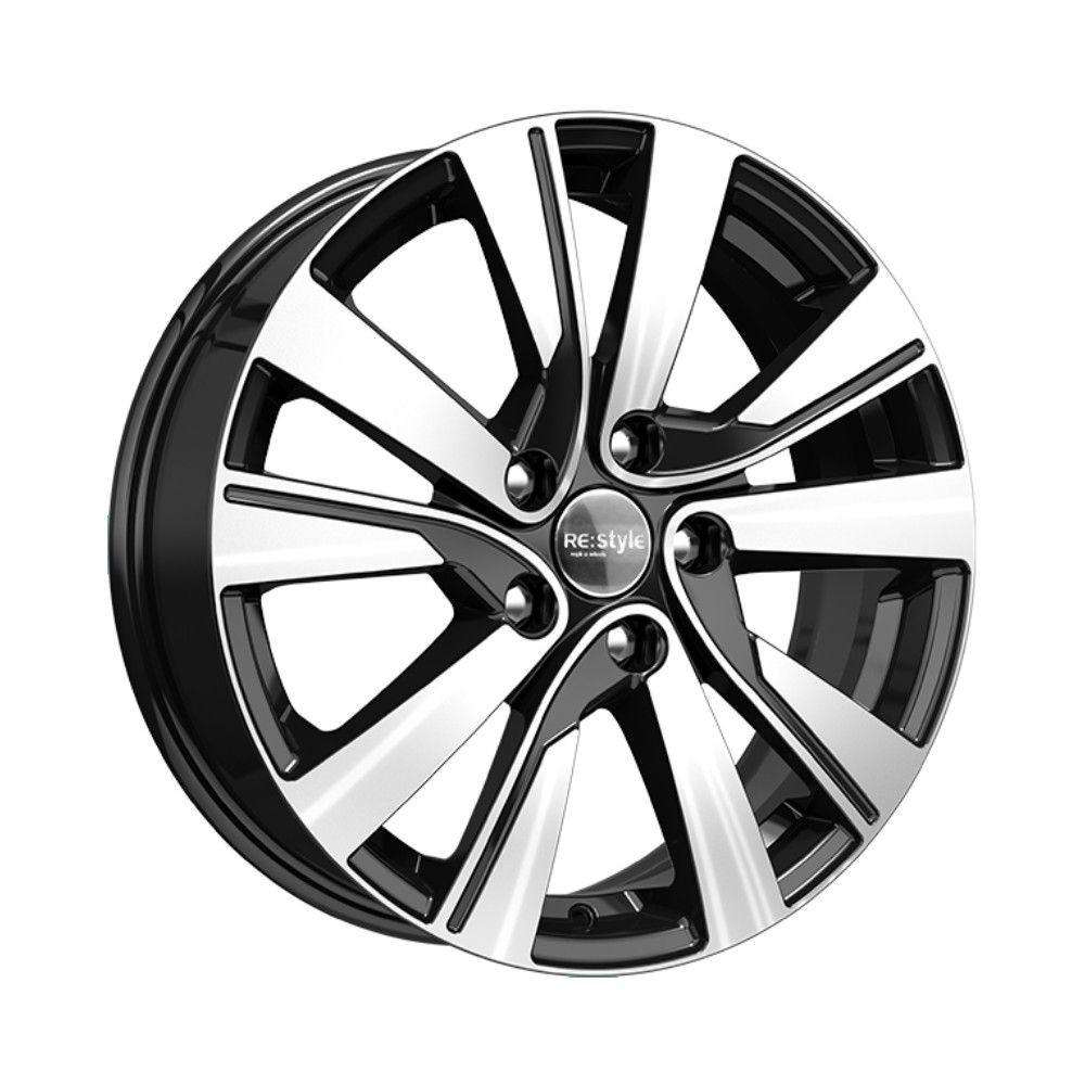 КиК Renault Fluence (КСr749) 7,0R17 5*114,3 ET48,5 d66,1 Алмаз-черный 709581
