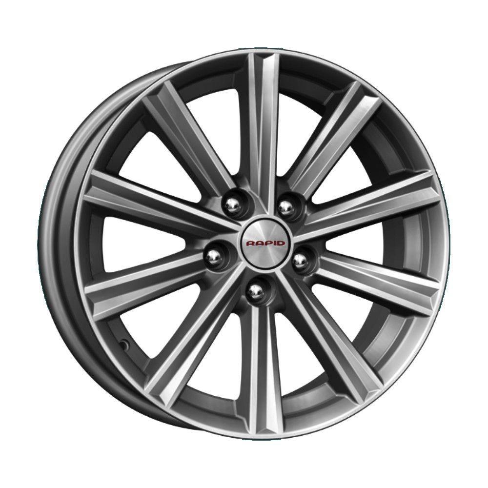 КиК Toyota Camry V5 (КСr624) 7,0R17 5*114,3 ET45 d60,1 Дарк платинум 744531