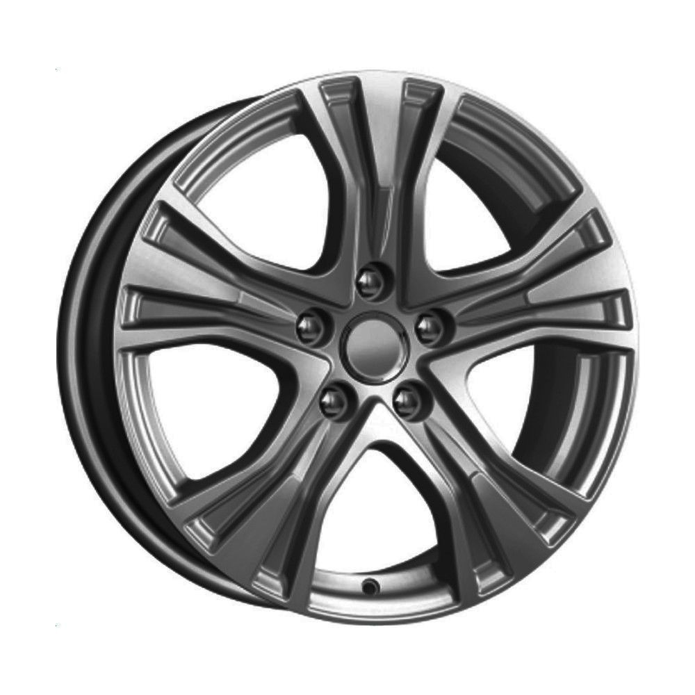 КиК Toyota Camry (КСr673) 7,0R17 5*114,3 ET39 d60,1 Дарк платинум 744541
