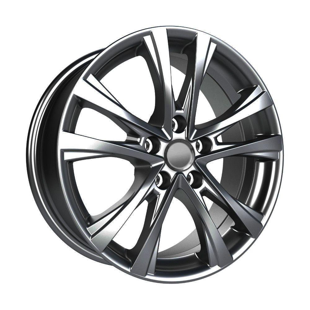 КиК Toyota Camry (КСr776) 7,0R17 5*114,3 ET45 d60,1 Дарк платинум 746471