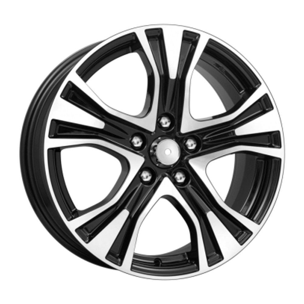 КиК Volkswagen Jetta (КСr673) 7,0R17 5*112 ET54 d57,1 Алмаз-черный 680311