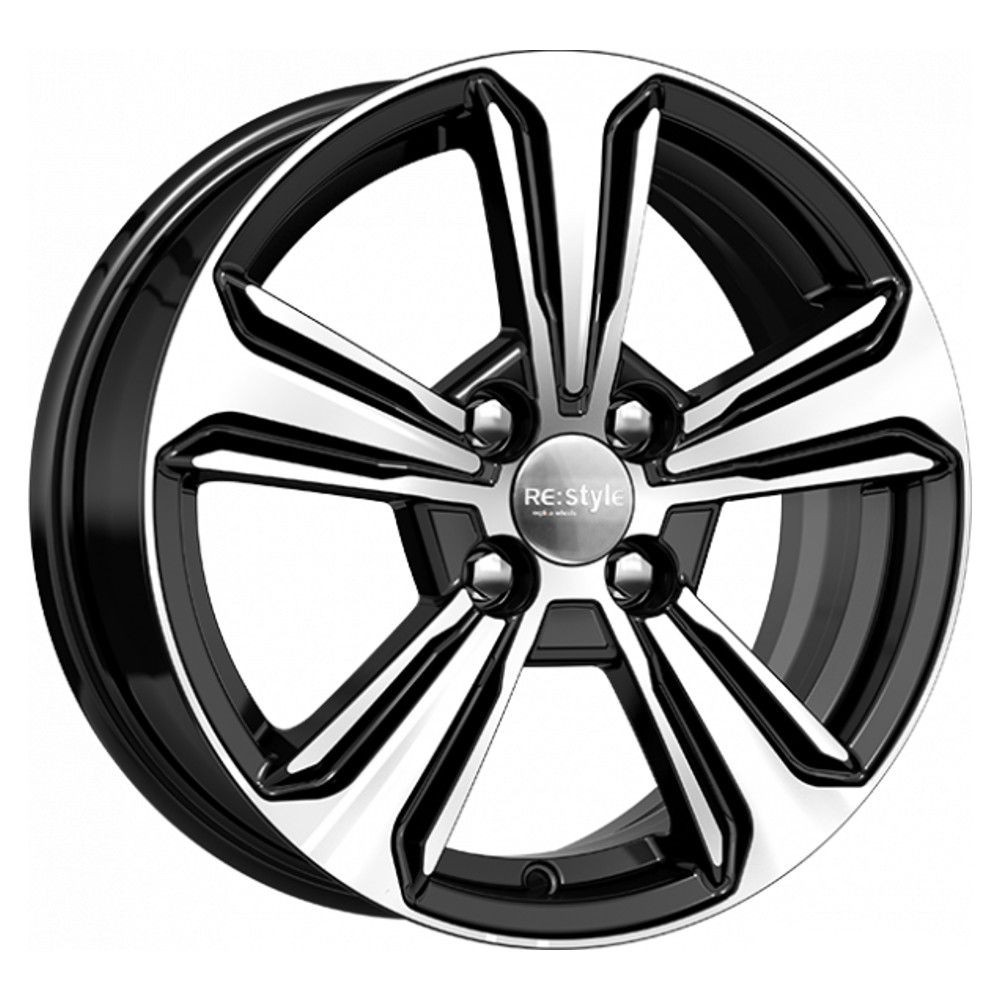 КиК КС777 Hyundai Solaris R15x6 4x100 ET46 CB54.1 Almaz_black