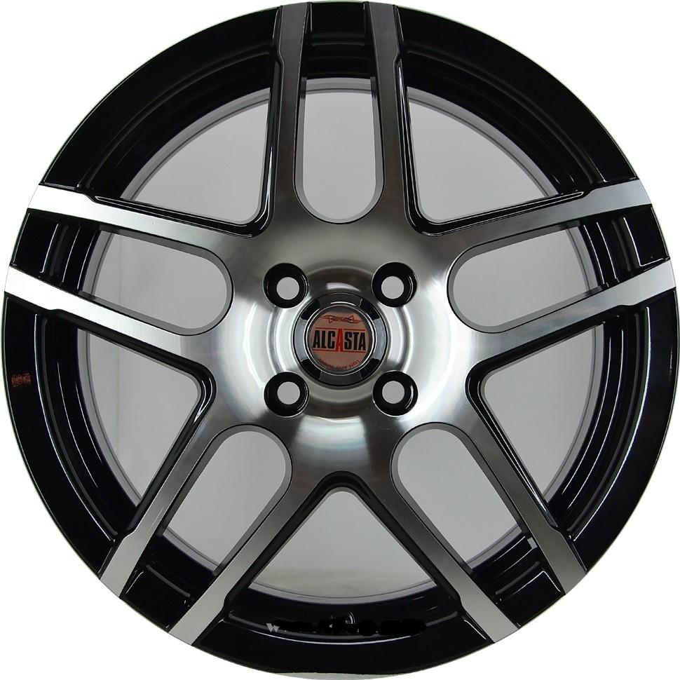 Alcasta M37 R16x6.5 4x100 ET36 CB60.1 BKF
