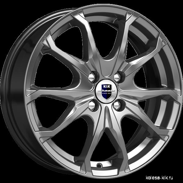 КиК Brent-оригинал(КС733) R16x6 4x100 ET52 CB54.1 Dark_platinum